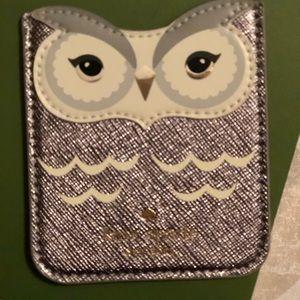 NWOT Kate Spade sticker pocket cardholder